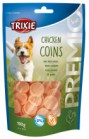 CHICKEN COINS SNACK PER CANI TRIXIE GR100