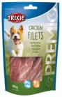 CHICKEN FILETS SNACK PER CANI TRIXIE GR100