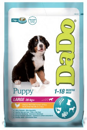 DADO PUPPY LARGE POLLO KG.12