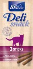 LIFE CAT DELI STICK GATTO POLLO E ANATRA 3 PZ
