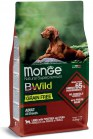 MONGE BWILD ALL BREEDS ADULT AGNELLO PATATE PISELLI KG 2,5