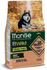 MONGE BWILD ALL BREEDS ADULT SALMONE PISELLI KG 12