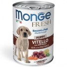 MONGE CANE FRESH PUPPY VITELLO E ORTAGGI GR.400