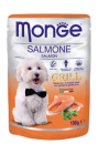 MONGE CANE GRILL SALMONE GR.100