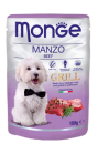 MONGE CANE GRILL MANZO GR.100