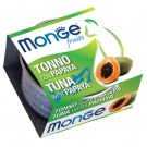 MONGE FRUIT TONNO CON PAPAYA GR 80