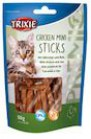 SNACK PER GATTI MINI STICKS di pollo GR.50