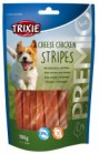 CHEESE CHICKEN STRIPES SNACK  PER CANI TRIXIE GR100